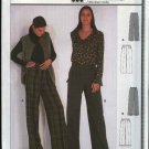 Burda Sewing Pattern 8756 Misses Size 10-20 Pants Slacks Trousers