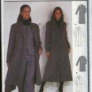 Burda Sewing Pattern 8758 Misses Sizes 8-18 Long Princess Seam Winter Coat