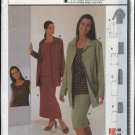 Burda Sewing Pattern 8792 Misses Sizes 10-22 Easy Wardrobe Jacket Shell Top Skirt