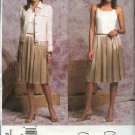 Vogue Sewing Pattern 2793 Misses Size 8-10-12 Oscar de la Renta Jacket Skirt