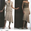 Vogue Sewing Pattern 2805 Misses Size 6-8-10 Guy Laroche Summer Suit Jacket Skirt