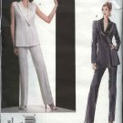 Vogue Sewing Pattern 2806 Misses size 6-8-10 Montana Jacket Pants Vest Paris Original