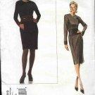 Vogue Sewing Pattern 2819 Misses Size 6-8-10 Oscar de la Renta Dress