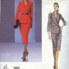 Vogue Sewing Pattern 2823 Misses Size 8-10-12 Easy Couture Misses Suit Jacket Skirt