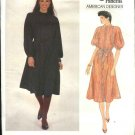 Vogue Sewing Pattern 2882 Misses Size 10 Geoffrey Beene Daytime Front Button Dress