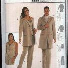 Burda Sewing Pattern 8594 Misses size 10-20 Jacket Vest Pants Pantsuit Coordinates