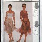 Burda Sewing Pattern 8671 Misses Sizes 6-16 Easy Yoke Skirt Handkerchief Hem