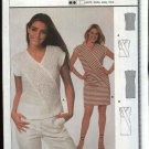 Burda Sewing Pattern 8692 Misses Size 8-18 Easy Knit Dress Top Pullover