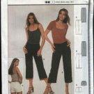 Burda Sewing Pattern 8696 Misses Size 8-20 Easy Hip Pants Short Capris