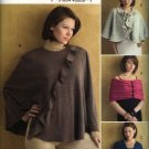 Vogue Sewing Pattern 0677 V0677 8212 Misses Size 16-22 Wrap Cape Shrug Elizabeth Gillett
