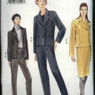 Vogue Sewing Pattern 7150 Misses Size 8-12 Easy Jackets Skirt Pants Wardrobe