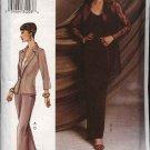 Vogue Woman Sewing Pattern 7520 Misses Size 18-20-22 Jacket Camisole Skirt Pants suit