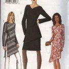 Vogue Sewing Pattern 7525 Misses Size 8-10-12 Easy Dress Tunic Skirt Pants Top Wardrobe