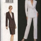 Vogue Woman Sewing Pattern 7578 Misses Size 8-10-12 Suit Jacket Skirt Pants