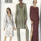 Vogue Sewing Pattern 7595 Misses Size 8-12 Easy Dress Tunic Pants Shorts