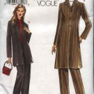 Vogue Sewing Pattern 7944 Misses  Size 10-12-14-16 Easy Jacket  Pants