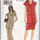 Vogue Sewing Pattern 8067 Misses size 8-10-12-14 Easy Top Skirt Pants Pantsuit Summer Suit