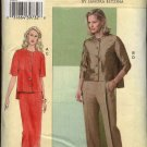 Vogue Sewing Pattern V8093 8093 Misses Size 10-14 Sandra Betzina Blouse Skirt Pant Top