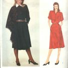 Vogue Paris Original Sewing Pattern 2837 Misses Size 10 Guy Laroche Dress Shawl