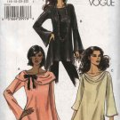 Vogue Sewing Pattern 8116 Misses Size 16-18-20-22 Easy  Pullover Top Tunic