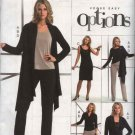 Vogue Sewing Pattern 8138 Misses Size 14-16-18 Easy Knit Wardrobe Jacket Top Dress Pants