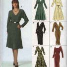 Vogue Sewing Pattern 8147 Misses Size 6-8-10 Easy Dress  Six Variations