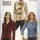 Vogue Sewing Pattern V8161 8161 Misses Size 6-8-10-12 Easy Jacket