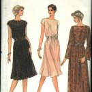 Retro Vogue Sewing Pattern 8183 Misses Size 12 Formal Evening Gown Dress Slip  USED
