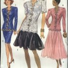 Vogue Sewing Pattern 8228 Misses Size 12-14-16  Formal Top Skirt Two-piece Dress Evening Suit