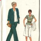 Vogue Sewing Pattern 8235 Misses Size 6-8-10 Easy Wardrobe Jacket Top Pant Skirt