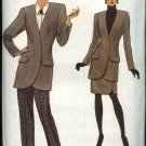 Vogue Sewing Pattern 8491 Misses Size 6-8-10 Easy Jacket Skirt Pants Suit Pantsuit