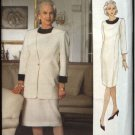 Vogue Woman Sewing Pattern 8601 Misses Size 8-12 Easy Dress Jacket