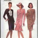 Vogue Sewing Pattern 8844 Misses Size 8-12 Easy Dress Tunic Skirt Two-Piece Dress