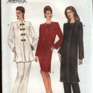 Vogue Sewing Pattern 8867 Misses Size 8-10-12 Easy Dress Tunic Top Pants