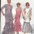 Vogue Sewing Pattern 9782 Misses Size 8-10-12 Formal Evening Dress Gown Tunic