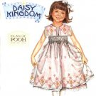 Simplicity Sewing Pattern 0514 Girls' Size 5-6-6x  Dress Daisy Kingdom Pooh Collection Smocking