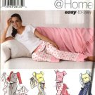Simplicity Sewing Pattern 0649 5923 Junior Girls Size S-XL Pants Tops Slippers Pajamas Bag Blanket