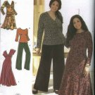 Simplicity Sewing Pattern 3699 Women's Plus Size 18W-24W  Wardrobe Dress Top Skirt Pants
