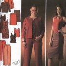 Simplicity Sewing Pattern 4093 Misses Size 10-12-14-16-18 Wardrobe Jacket Skirt Dress Top Pants