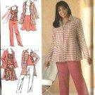 Simplicity Sewing Pattern 4276 Misses Size 10-18 Wardrobe Top Skirt Jacket Pants Coat Khaliah Ali