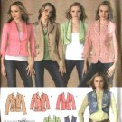Simplicity Sewing Pattern 4281 Misses Size 6-8-10-12-14 Jackets Vest