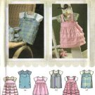 Simplicity Sewing Pattern 4288 Baby Infant Size NB-18 months XXS-L Romper Jumper Onesie