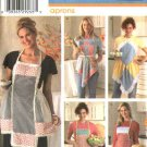 Simplicity Sewing Pattern 4360 Fat Quarter Club Bib Aprons