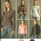 Simplicity Sewing Pattern 4363 Misses Size 8-10-12-14-16 Lined Princess Seam Jacket