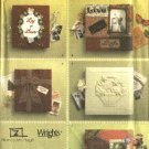 Simplicity Sewing Pattern 4407 Five Scrapbook Album Covers Scrapbooking Decoration Crafts