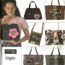 Simplicity Sewing Pattern 4435 Purse Totes Handbags  Bags