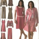 Simplicity Sewing Pattern 4505 Misses Size 10-18 Easy Wardrobe Jumper Skirt Jacket Pants