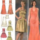 Simplicity Sewing Pattern 4580 Misses Size 6-8-10-12 Formal Top Skirt Two Piece Dress Evening Gown