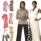 Simplicity Sewing Pattern 4632 Womans Plus Size Size 20W-28W Dress Tunic Pants Bag