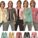 Simplicity Sewing Pattern 4635 Misses Size 6-8-10-12 Lined Princess Seam Jacket Belts